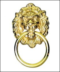 Lion Head Drawer/Cabinet Ring Pull
