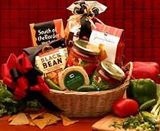 Lets Spice It Up Salsa Gift Basket by Organic Stores