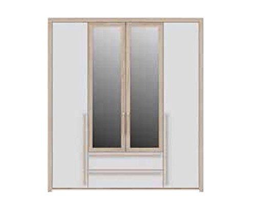 Salisbury 4 cajones 2 puertas de armario antidestellos