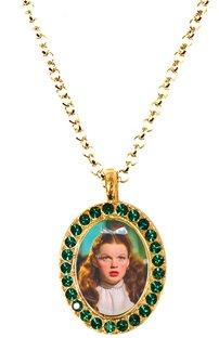 Tarina Tarantino My Pretty Small Pendant Necklace (Emerald)