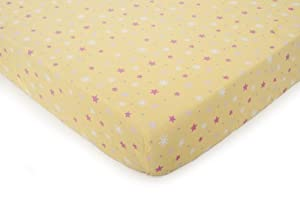 Fitted Crib Sheet, Fairy Monkey