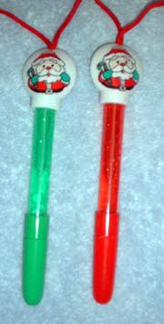 Santa Bubble Pen On a Cord FINAL CLOSEOUT (12/PKG) - Buy Santa Bubble Pen On a Cord FINAL CLOSEOUT (12/PKG) - Purchase Santa Bubble Pen On a Cord FINAL CLOSEOUT (12/PKG) (Toy Connections, Toys & Games,Categories,Arts & Crafts,Pens & Markers)