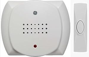 GE Wireless Door Chime, White 19208