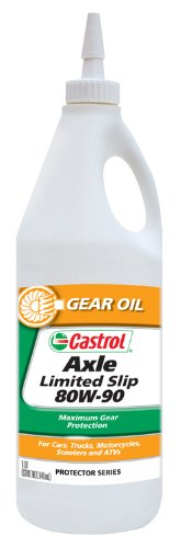 Castrol 12612-12PK Axle Limited Slip 80W-90 Gear Oil - 1 Quart, (Pack of 12) (Castrol Gear Oil compare prices)
