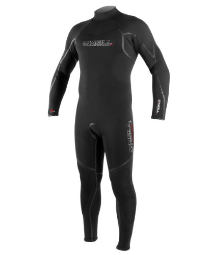 O'Neill Wetsuits Sector 3mm Fluid Seam Weld Full Suit  (Black, X-Large)