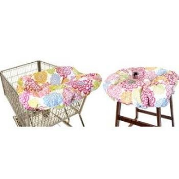 Read About Itzy Ritzy Sitzy Shopping Cart and High Chair Cover, Fresh Bloom