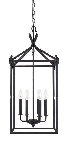 World Imports Lighting 61405-42 Hastings 6-Light Lantern, Rust