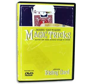 Amazing Easy to Learn Magic Tricks DVD: Ultimate Rising Card - Includes Professional Magic Thread