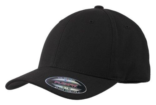 Sport-Tek Stc17 Flexfit Performance Solid Cap - Black - S/M front-823548