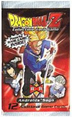 Dragonball Z Score Trading Card Game Android Saga Booster Pack - 1
