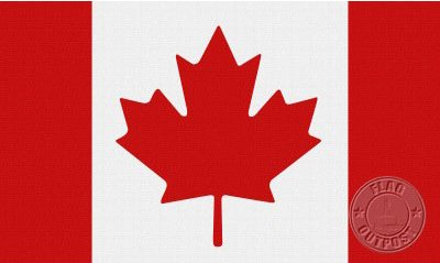 Canada 2 x 3 Nylon Flag
