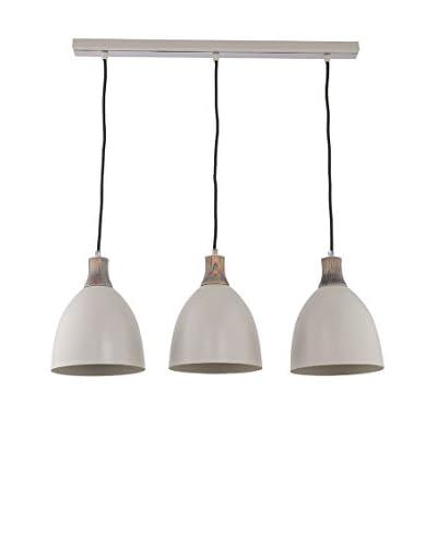 Lightshape Lámpara De Suspensión Levio 3 Gris