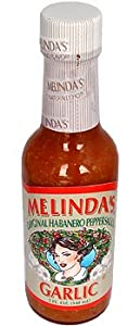 Melindas Garlic Habanero Hot Sauce by Melinda's