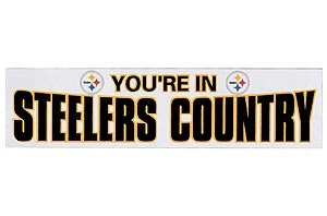 You're In Steelers County Banner at Steeler Mania