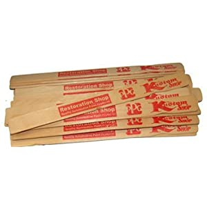 Image: Kustom Shop Mix-12-25 12 inch Birch Paint Mixing Paddles - Pack Of 25