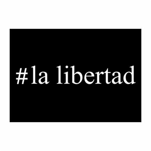 teeburon-la-libertad-hashtag-sticker-pacchetto-di-4
