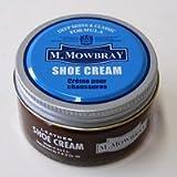 『M.モゥブレィ』M.MOWBRAY シュークリームジャー・ダークブラウン (保革・補色・艶出しクリーム)正規取扱店