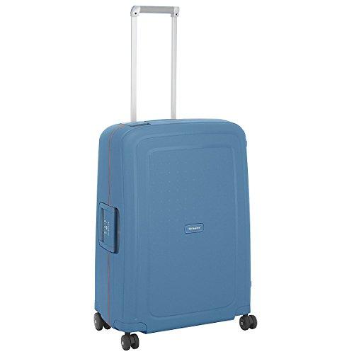 Samsonite S Cure Spinner 4-Rollen-Hartschalentrolley 69 cm steel blue
