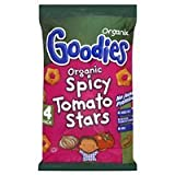 Organix 12 Month Goodies Spicy Stars 4 Pack 60g