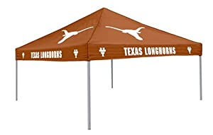 NCAA Texas Longhorns 9-Foot x 9-Foot Tailgating Canopy, Burnt Orange by Logo