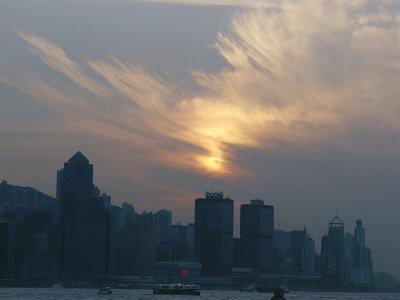 Hong Kong Skyline Wallpaper. The View Of Hong Kong Skyline