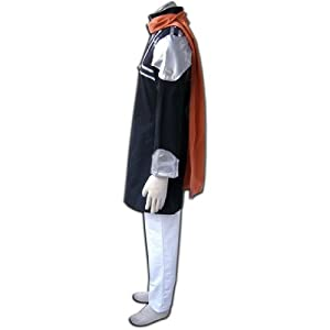 CTMWEB D.Gray Man Cosplay Costume - Lavi Exorcist 1st Ver Uniform XX-Small