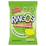 Red Mills Ringos Cheese & Onions 30p ( 25g x 36 x 1 )