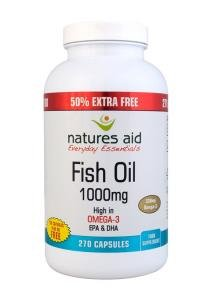 Natures Aid Fish Oil (180 capsules 1000mg, )