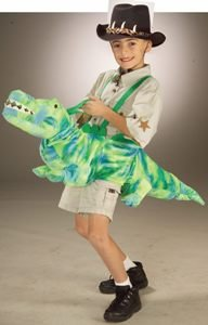 Ride-A-Gator Stuffed Kids Costume