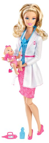 Barbie I Can Be Baby Doll Médico