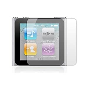 6 x Protectores de Pantalla para Apple iPod Nano 7th Generation - Láminas de protección / Clear Screen Protectors