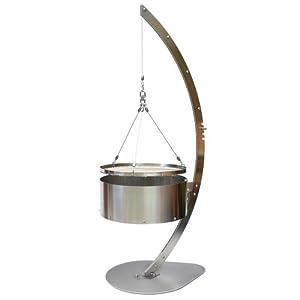 padino schwenkgrill p1 edelstahl holzkohle grill. Black Bedroom Furniture Sets. Home Design Ideas