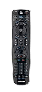 Philips SRU5106/27 6 Device Universal Remote Control (Discontinued by Manufacturer)