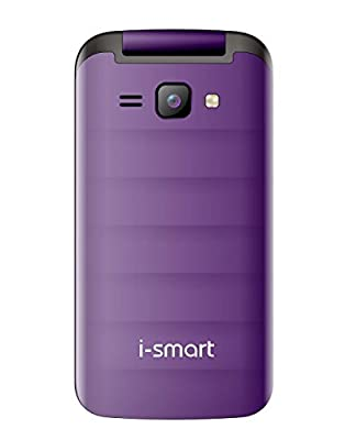 I-Smart-204-Flip-(Purple+Black)DualSim-Basic MobilePhone-(dualsim-mobile)