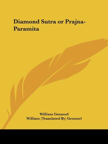 Diamond Sutra Or Prajna-Paramita (Or Prajna-Paramita (1912))