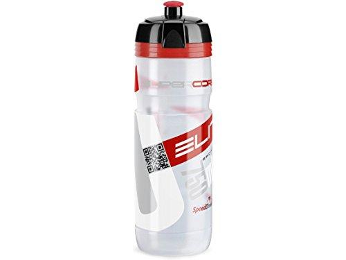 エリート ELITE BIO(ビオ)SUPER CORSA ボトルキャップレス750ml クリア/レッド 100%生分解 0291190001