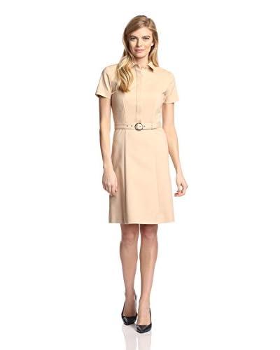 Magaschoni Women's Flared Shirt Dress
