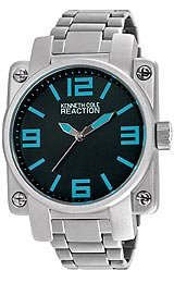 Kenneth Cole Reaction Silver Link Men's watch #RK3227