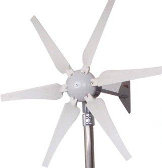 Aleko® Wg400 400 Watt 12-Volt 6-Blade Wind Generator With Charge Controller