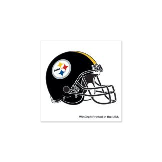 NFL Pittsburgh Steelers Tattoo (4 Pack), Black - 1