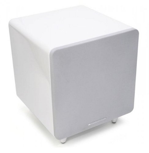 Cambridge Audio Minx X300 Subwoofer, High Gloss White