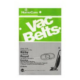 Kirby & Royal Metal Upright Vacuum Belt - 2 Pack