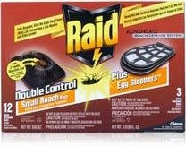 Raid Double Control Roach Baits,Egg Stoppers - 15 Baits [Health and Beauty]