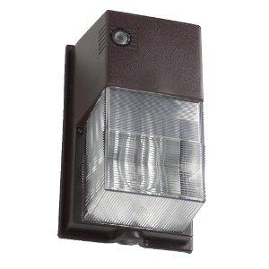 Hubbell Outdoor Lighting NRG307B-PC NRG 300B Series 70-Watt High Pressure Sodium Perimeter Wall Pack with Photo Control
