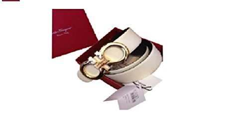 salvatore-ferragamo-black-white-reversible-big-gold-buckle-belt-105cm-mens-waist-36-38