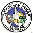 City of Las Vegas Nevada Embroidered Patch Badge