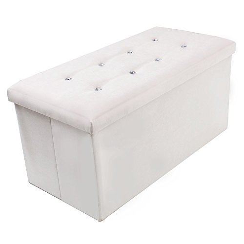 large-cream-suede-ottoman-diamante-foot-stool-pouffe