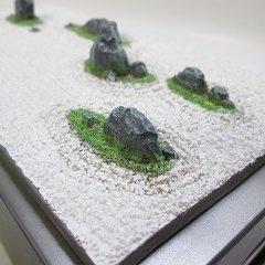 おもしろ雑貨『ティッシュケース』日本庭園・日本の歴史