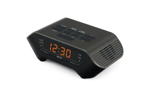 Akai Ce1000B Am/Fm Clock Radio