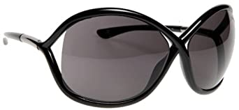 Tom Ford 0009 199 Black Whitney Butterfly Sunglasses Lens Category 2